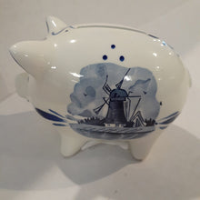 Load image into Gallery viewer, Delft Piggy Bank