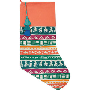 NEW Stocking - Bohemian Tassels - 101342