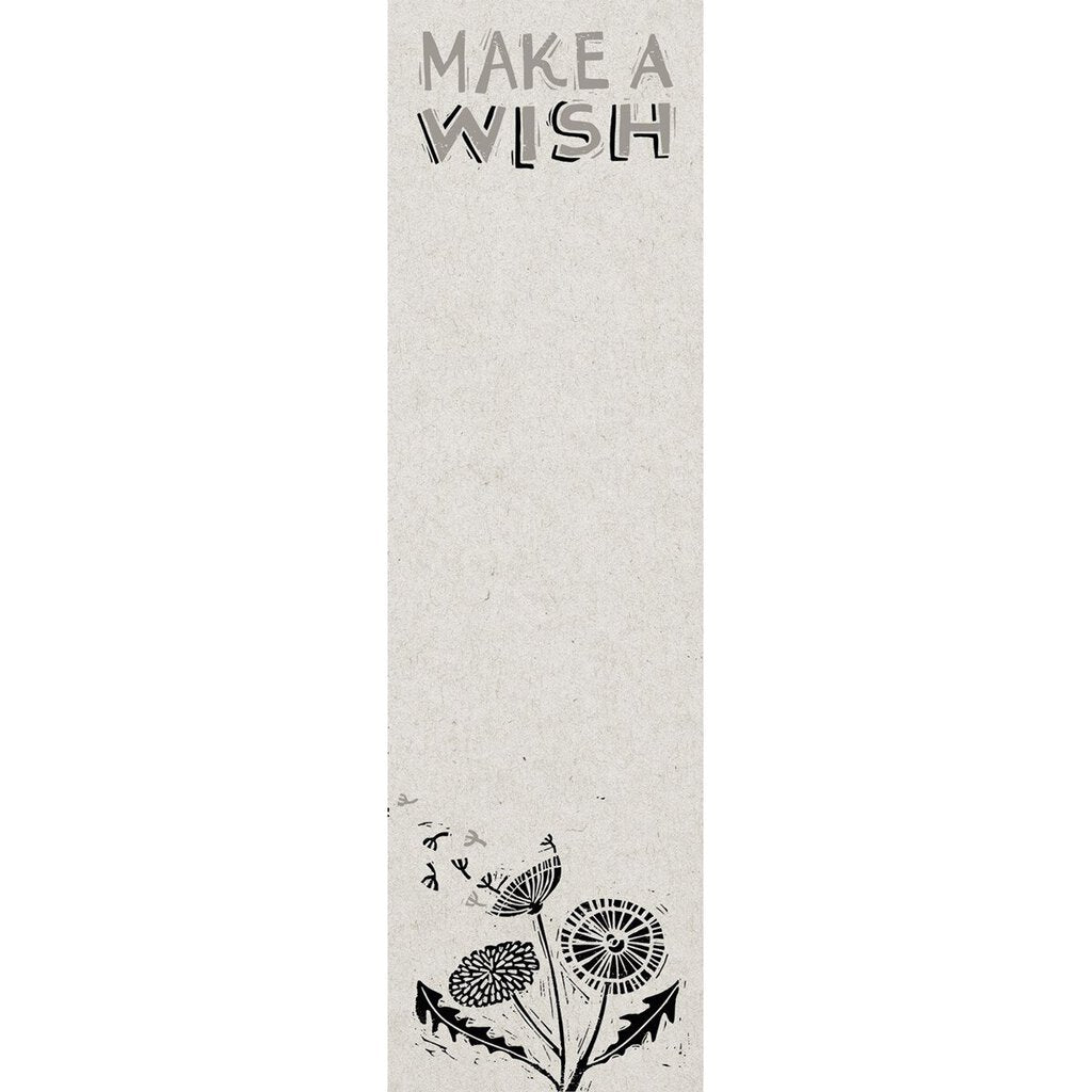 NEW List Notepad - Make a Wish - 35750