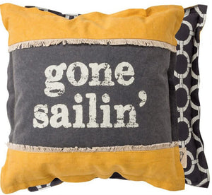 NEW Pillow - Gone Sailin' - 31033