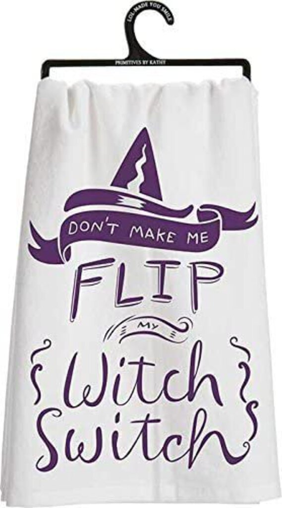 NEW Dish Towel - Witch Switch - 25526
