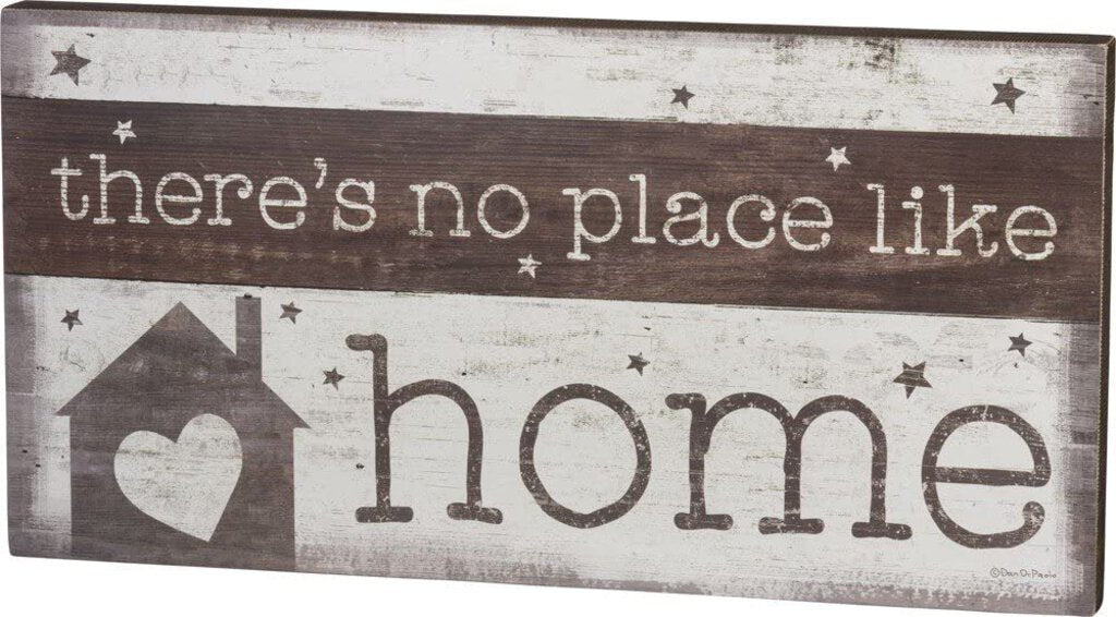 NEW Box Sign - Like Home - 38883