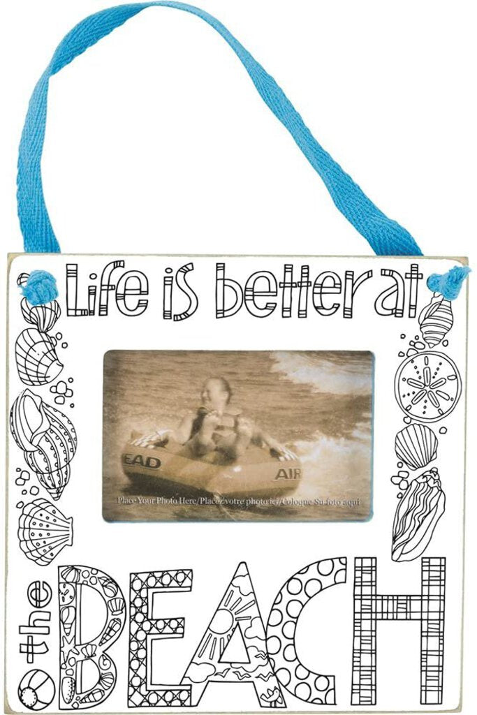 NEW Mini Frame - Life is Better - 34976