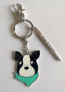 NEW Key Ring with Charms - Dog