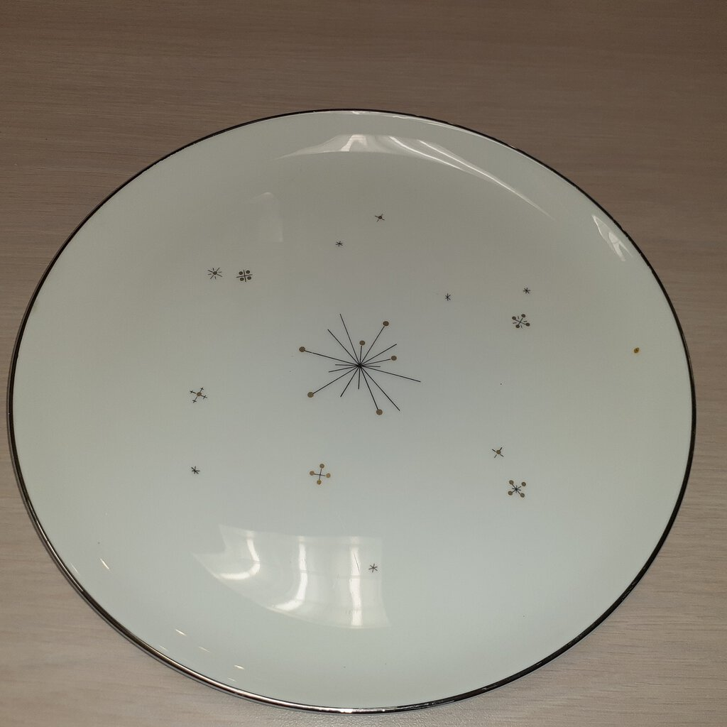Mid-Century Syracuse China 'Evening Star' Dinner Plate