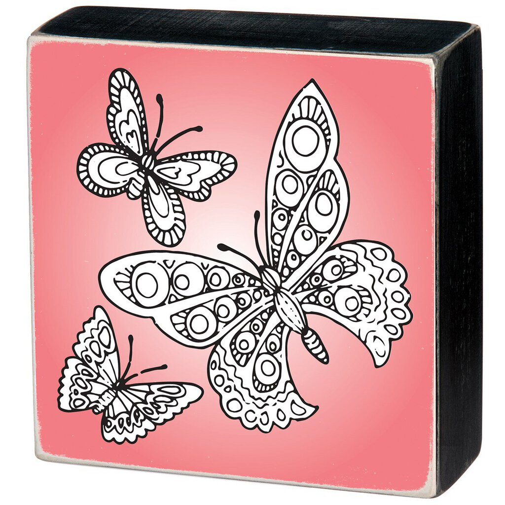 NEW - Color Sign - Butterflies - 32201