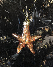 Load image into Gallery viewer, NEW Glass Starfish Baby Ornament - 35381