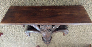 NEW Hand Carved Wall Shelf from Thailand