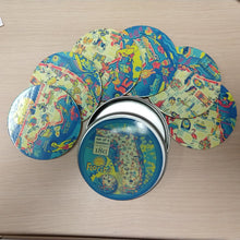 Load image into Gallery viewer, NEW Florida Coaster Set in Tin