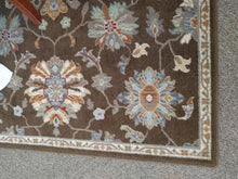 "Load image into Gallery viewer, 63"" x 90"" Sphinx by Oriental Weavers ""Ensley"" Collection Brown Multicolored Area Rug"