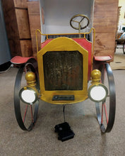 "Load image into Gallery viewer, NEW 40"" Solar Lighted Antique Style Metal Milk Truck 2480880"