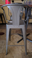 Load image into Gallery viewer, Heavy Duty GunMetal Tolix Bar Stool