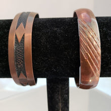 Load image into Gallery viewer, Copper Bangle Cuff Bracelet