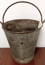 "Load image into Gallery viewer, NEW 13"" Metal Bucket with Handle - India"