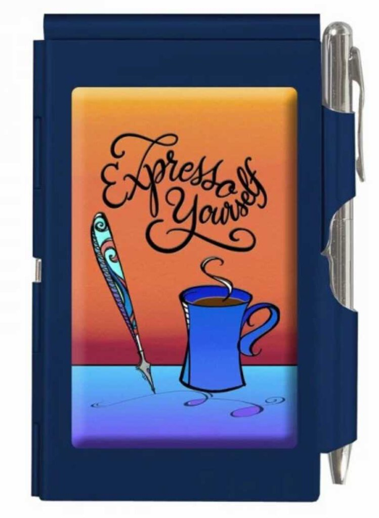NEW Wellspring Flip Note Pad - Express Yourself