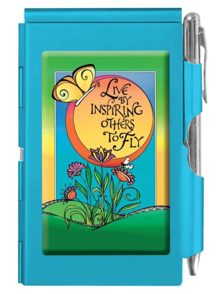 NEW Wellspring Flip Note Pad - Live by Inspiring