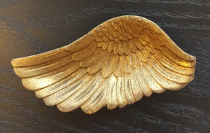 NEW Angel Wing Trinket Dish - Gold Finish