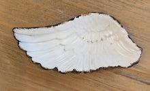 Load image into Gallery viewer, NEW Angel Wing Trinket Dish - Antique White Finish