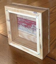 "Load image into Gallery viewer, NEW 6"" Reclaimed Wood Wall Art - You make me Proud"