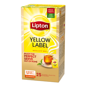 LIPTON Yellow Label - črni čaj 45 g