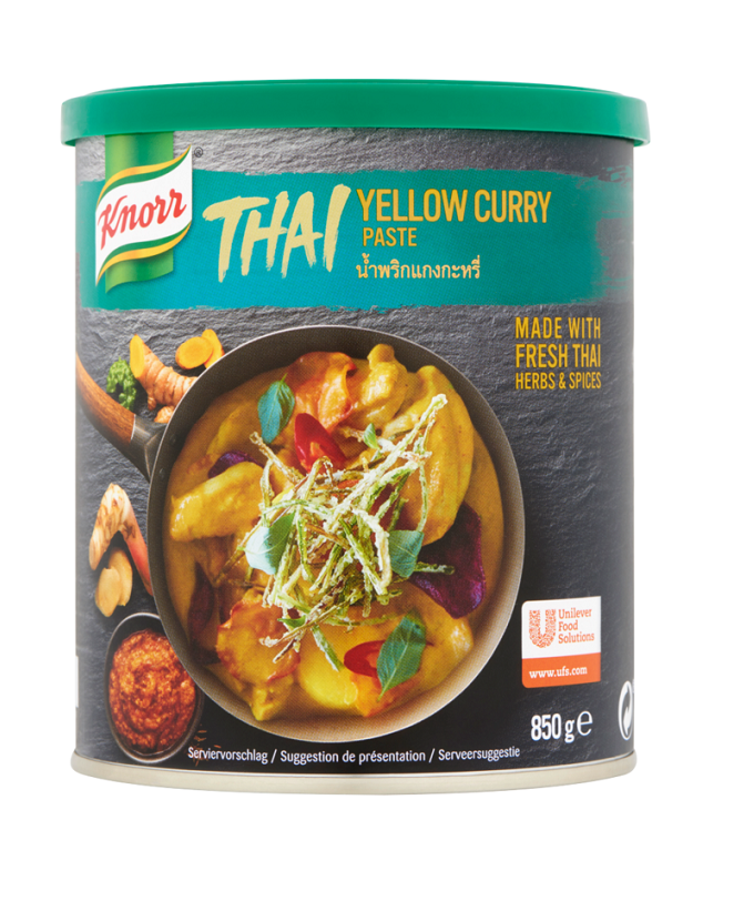 KNORR Rumeni Thai-Curry osnova 850 g