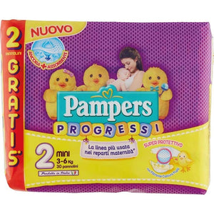 PAMPERS PROGRESSI NEWBABY MINI 3/6 - ANNI VERDI