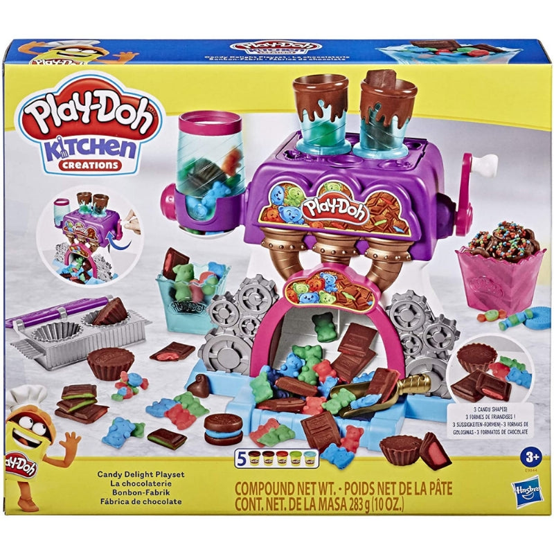 PLAY DOH FABBRICA DELLE CARAMELLE