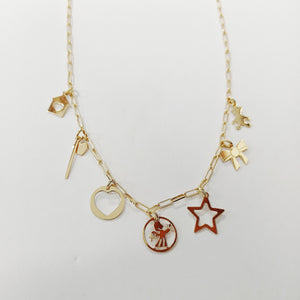 Collana Charms Fantasia