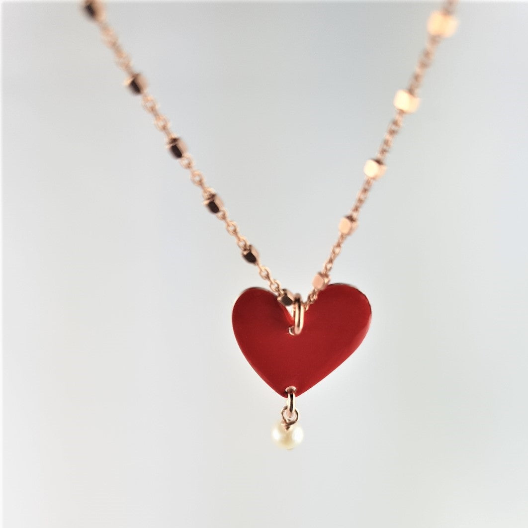 Collana Red Heart