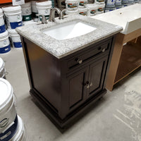 "28"" Stone Top Vanity with Faucet"