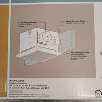 NEW - Bathroom Vent Fan
