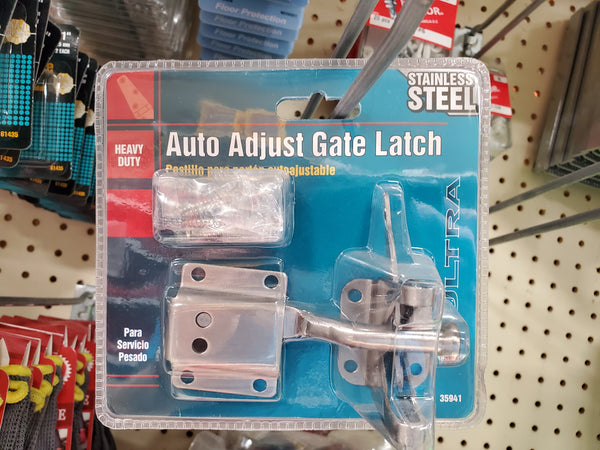 Auto Adjust Gate Latch