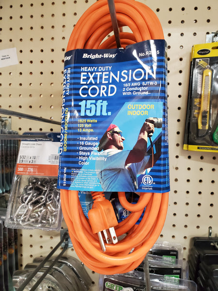 Extension Cord - 15 ft