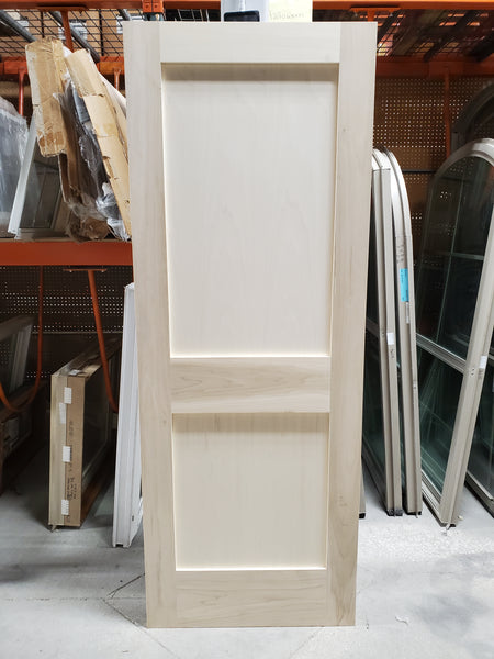 "Solid core Poplar Door 30"" x 80"""