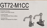 NEW - Single Control Kitchen/Bar Faucet - Polished Chrome
