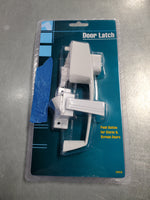 Door Latch - White