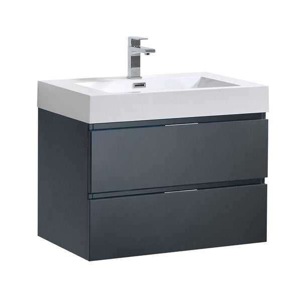 Wall Mounted Bathroom Vanity Set