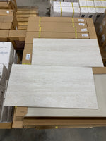 "Forum Ivory 12""x24"" Porcelain Tile - 15.75 sq ft"