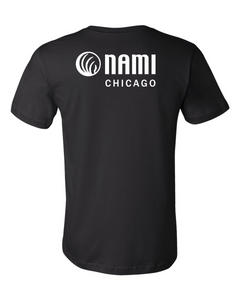 NAMI: FUTURE IS STIGMA FREE TEE - BLACK TEE