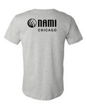 Load image into Gallery viewer, NAMI: FUTURE IS STIGMA FREE TEE - GREY TEE