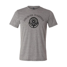 Load image into Gallery viewer, LifeCYCLE - STRONGER TOGETHER TEE - Grey Triblend