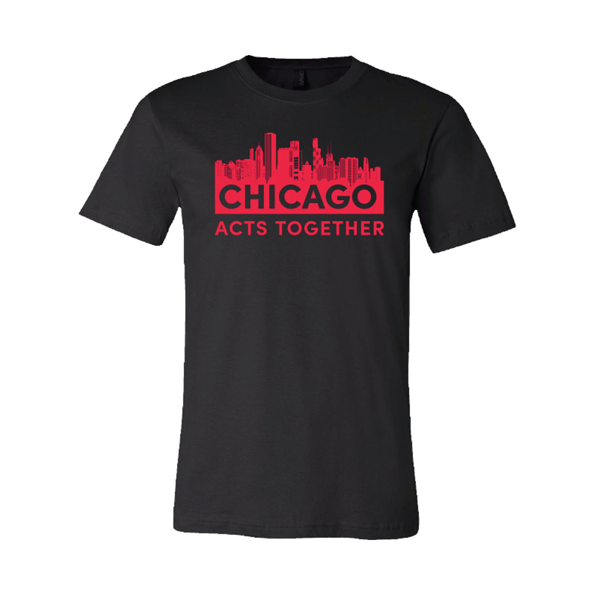 CHICAGO ACTS TOGETHER - SKYLINE RELAXED TEE