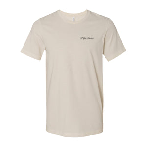 SUPER PRODUCERS LOGO TEE - CREAM