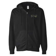 Load image into Gallery viewer, 3 GOAT EMBROIDERED ZIP HOODIE