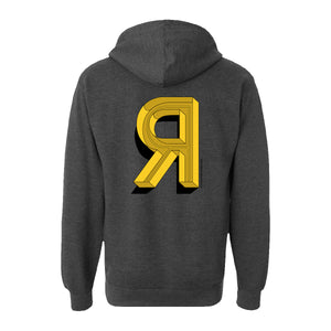 """R"" LOGO PULL-OVER HOODIE"