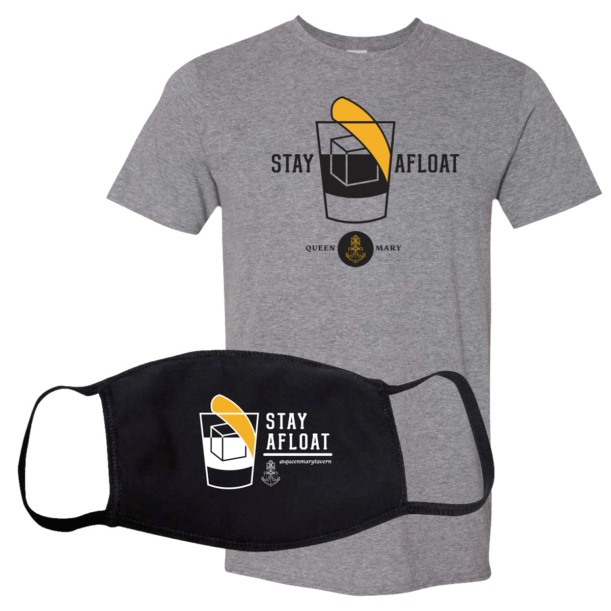 QUEEN MARY TAVERN - TEE & MASK PACK