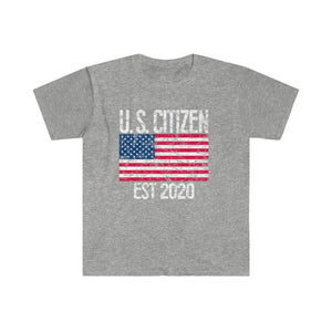 New Citizen T-Shirt - U.S. Citizen 2020