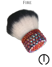 Load image into Gallery viewer, Swarovski Loose Powder Makeup Brush - Multiple Colors Available-Makeupology