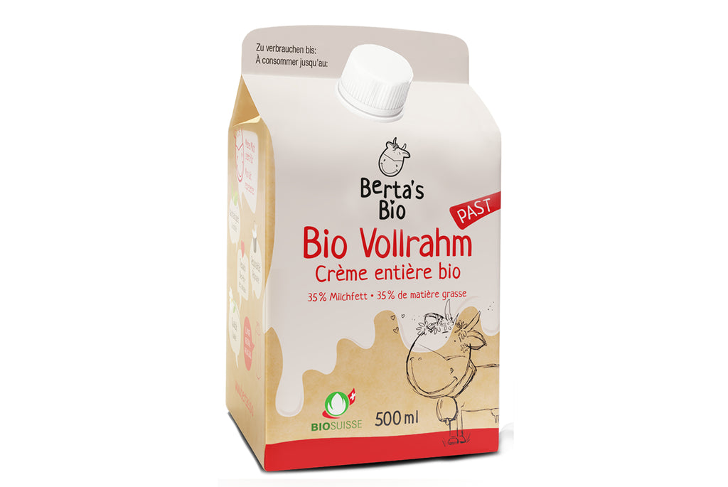 Berta's Bio Vollrahm 500ml