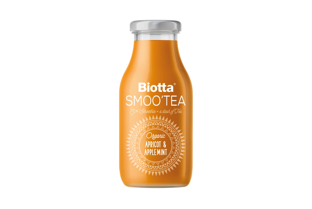 Bio Smoo'tea Apricot & Applemint 250ml